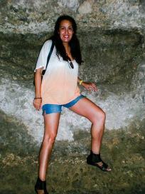 Israel J. Espino en la cueva de Hércules  (Toledo=