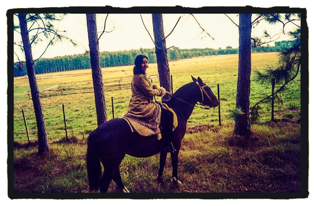 Los caballos tienen un papel protagonista en la leyenda del bosque (La vuelta al mundo en 80 mitos)